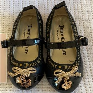 Juicy couture toddler girl Mary Jane shoes